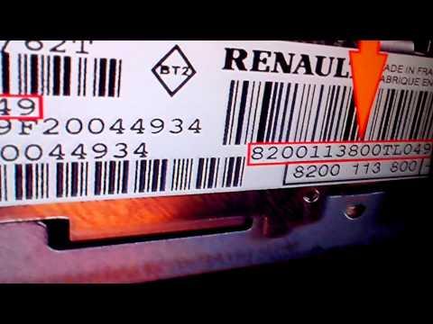 Free Renault Radio Security Code unlocking