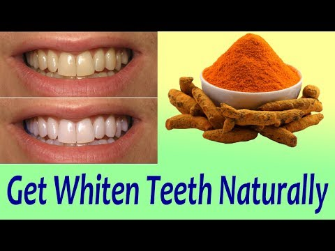 Eliminate Cavities And Get Whiter Teeth Naturally  - Turmeric Recipe For Teeth Whitening