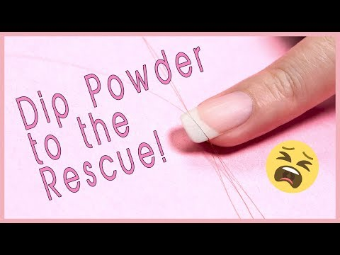 How to Fix a Broken Nail with Dip Powder: Simple and Easy Hack