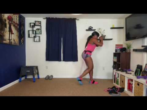 Da Struggle using her Squat Belt! Follow along with her!
