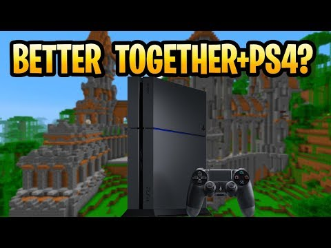 Minecraft PS4 Better Together Update (Bedrock) COMING OR NOT? Playstation Console