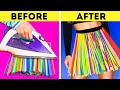 DIY RECYCLING PROJECTS COLORFUL STRAW PLASTIC AND CLOTHES HACKS