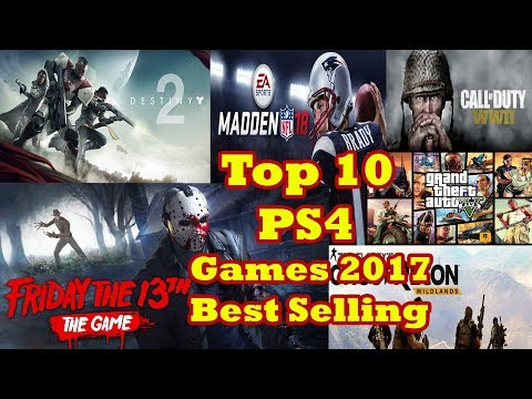 Top 10 Best-Selling Play Station  Games Of 2017 Revealed In The US | PS4 | PS2