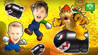 Hilarious BOWSER Party 10 with HobbyKids