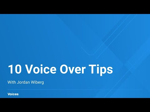 10 Tips To Get Hired For Voice-Over Work