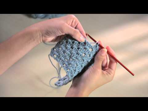 The Art of Crochet - Working In Spaces Between Stitches