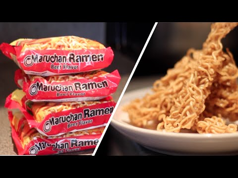 Fried Ramen Recipies Review- Buzzfeed Test #6