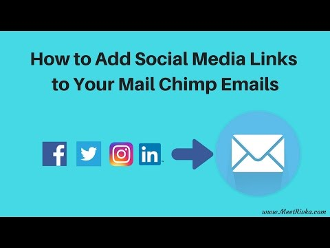 MailChimp Social Media Button Tutorial