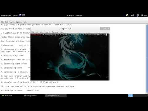Hack Any Wifi Password on Kali Linux Learn how to Hack Wifi Full Tutorial