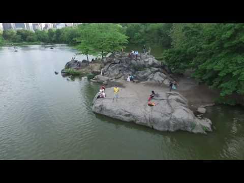 Central Park, New York City - DJI Phantom drone
