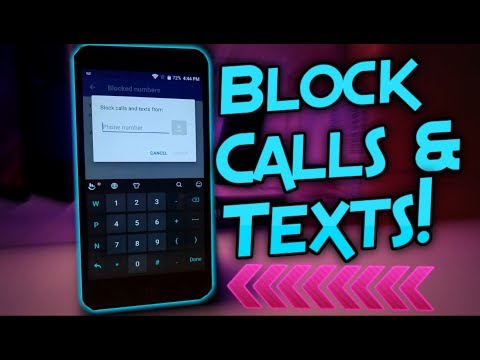 How To Block Calls On ZTE Blade X