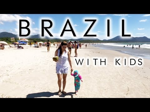 OUR FAMILY HOLIDAY TO BRAZIL   Brazil With Kids   TRAVEL WITH KIDS   Ysis Lorenna