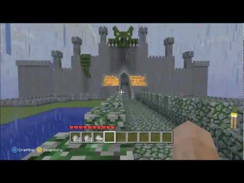 Epic Minecraft Xbox 360 world! Download now available! w/ commentary
