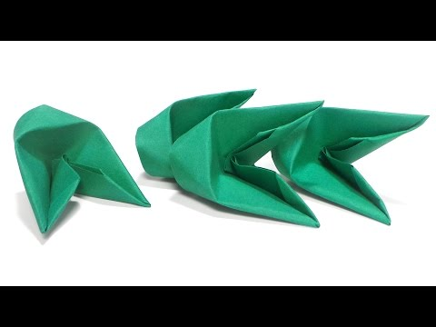 How To Fold 3D Origami Pieces Faster Tutorial