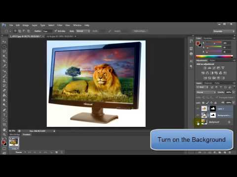 How to Merge the Photo using Auto-Blend Layers in Photoshop