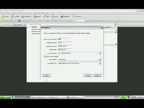 Adobe Acrobat - How to create a Digital Signature in 9.0 Pro