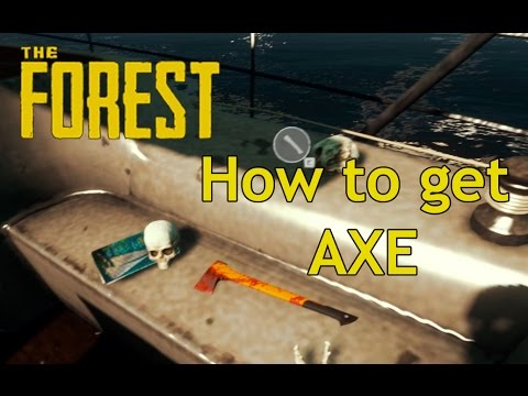 The Forest - How To Get Better Axe