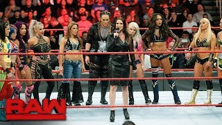 Stephanie McMahon announces the first-ever Women