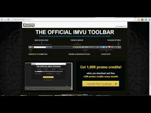 How to download the IMVU toolbar