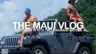 MAUI TRAVEL VLOG | Offroading, Cliff Jumping, & More!