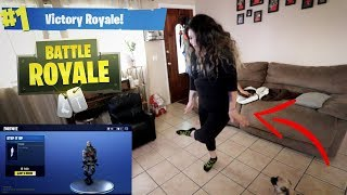 NEW FORTNITE BOOGIEDOWN DANCE!! (WITH FAMILY!)