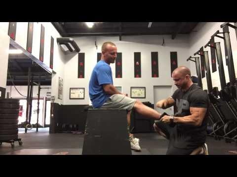Crossfit calf tear/calf pull fix with Games athlete Pete Lemone | Trevor Bachmeyer | SmashweRx