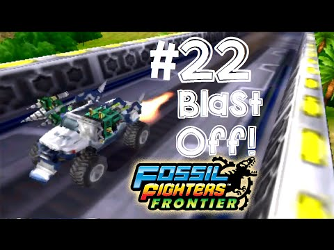 Fossil Fighters: Frontier Nintendo 3DS BLAST FROM THE PAST! Walkthrough/Gameplay Part 22 English!