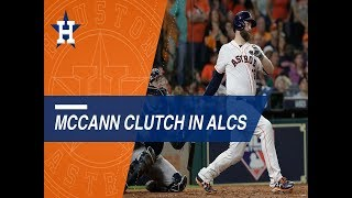 Brian McCann makes big impact to help lift Astros in ALCS