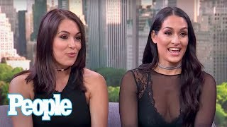 WWE Stars Nikki & Brie Bella On John Cena, Baby Birdie, Nikki