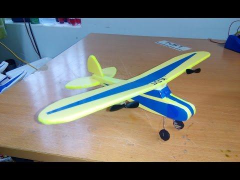 [Tutorial] DIY - How To Make Airplane J3 Cub MINI RC