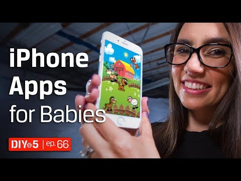iPhone Tips - iPhone Apps for Babies – DIY in 5 Ep 66