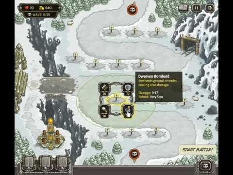 Kingdom Rush - Campaign Final Boss - All Achievements Unlocked [2/2]