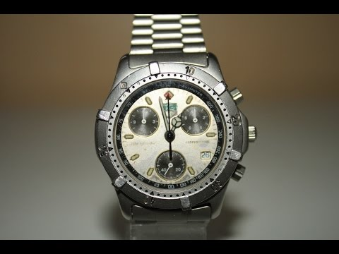 Checking the battery life on a Tag Heuer Professional 2000 Series 560.206 R Chronograph Model