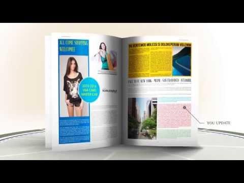 Fashion Week Magazine Template