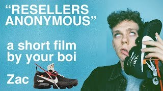 "Reselling Nike Off White Vapourmax ""resellers anonymous"""