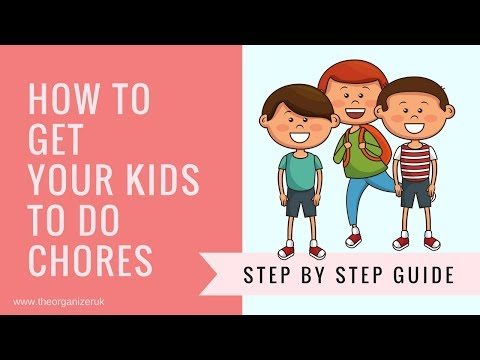 HOW TO GET YOUR KIDS TO DO CHORES, MAKING A CHORE CHART FOR KIDS THAT GET RESULTS !\