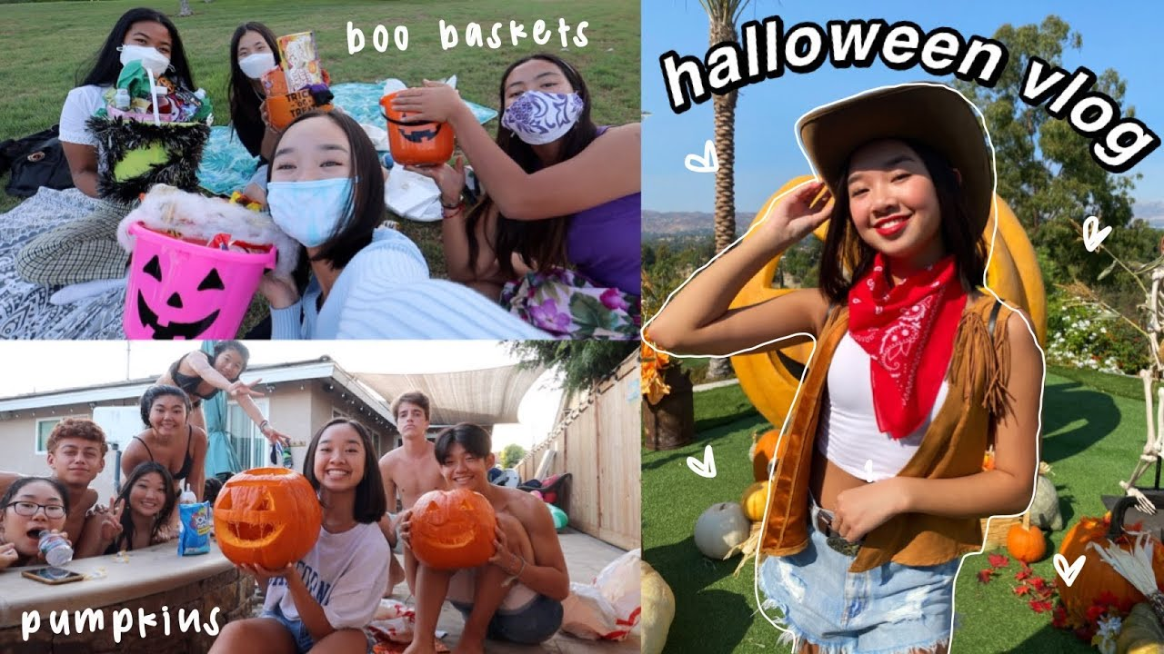 HALLOWEEN VLOG | activities with friends & costume party!
