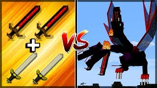 Minecraft Épico #52: 2 ROYAL GUARDIAN + 2 BIG BERTHA VS THE QUEEN!!!