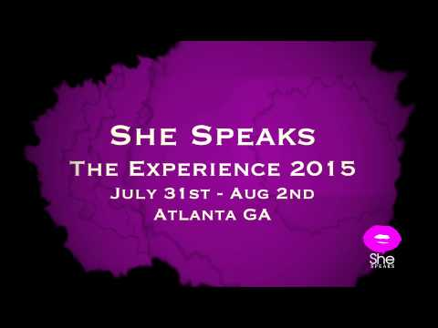 She Speaks Conference promo