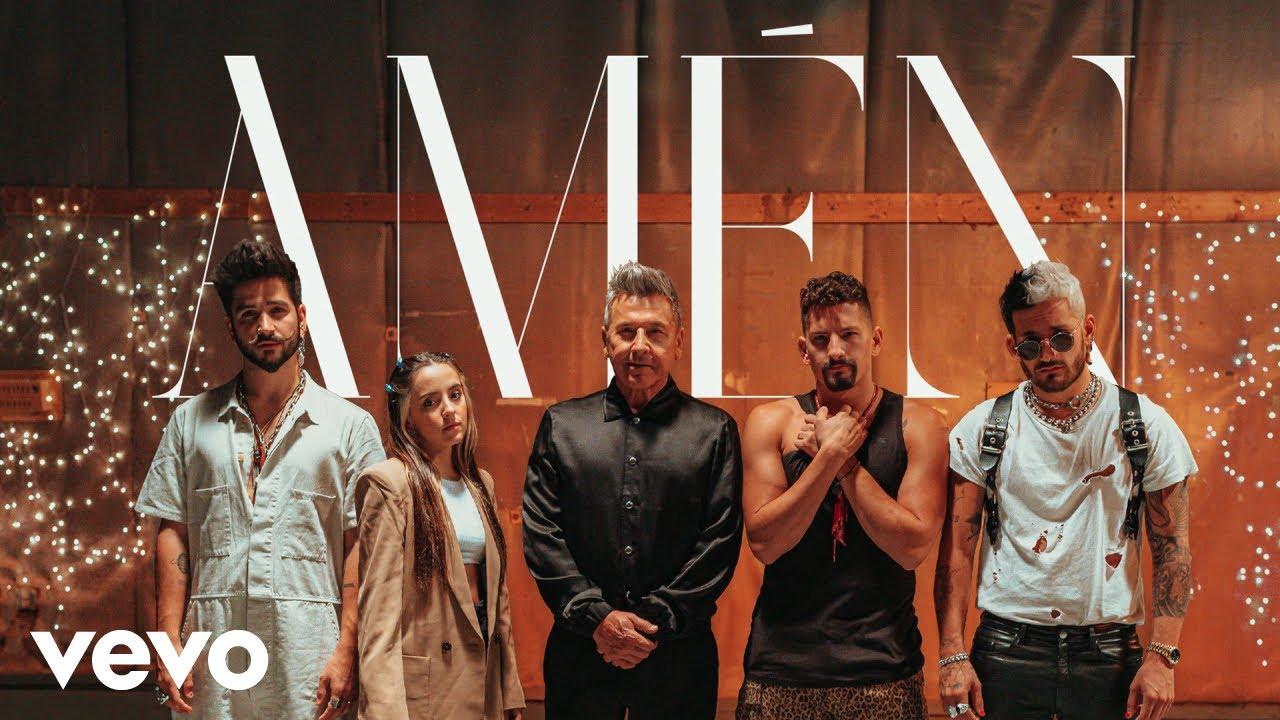 Ricardo Montaner, Mau y Ricky, Camilo, Evaluna Montaner - Amén