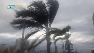 Ciclone No Litoral: Ventania E Mar Agitado