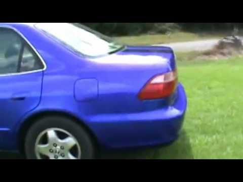 how to my first kandy candy cobalt blue accord paint job went