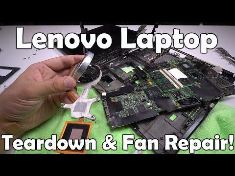 Lenovo X61T Laptop Teardown / Disassemble Fan Repair in 4K!