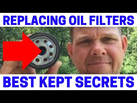 How To Properly Change Engine Oil Filters