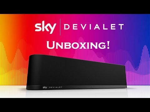 Sky Soundbox TV 360 Media Speaker Unboxing & First Look! (Devialet)