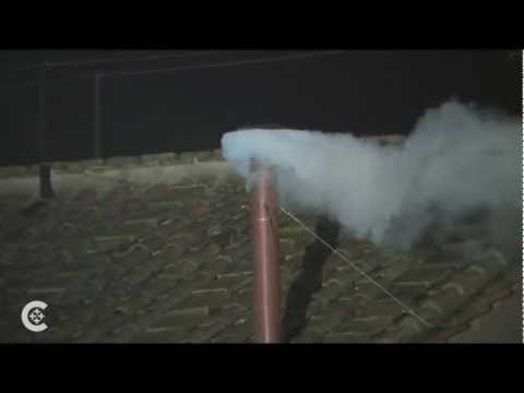 White smoke, we have a pope