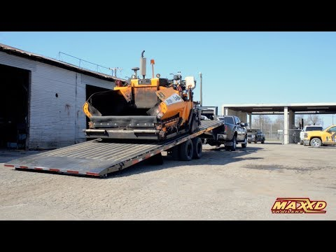 Slide-X Tilt Trailer for Low Clearance Equipment - TTX by Maxxd Trailers
