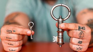 Solving The ANCIENT KEY LOCK Puzzle!!
