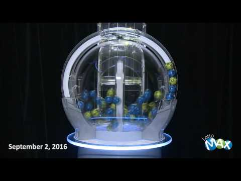 Lotto Max Draw, - September 2, 2016