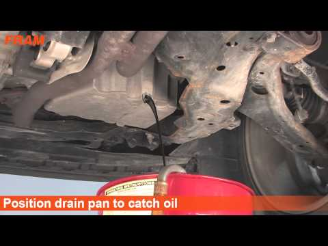 FRAM Oil Change. How to Change your OIL